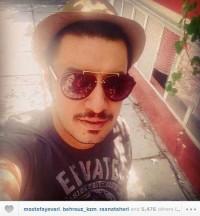 عکس جدید جواد عزتی بازیگر سریال دردسرهای عظیم