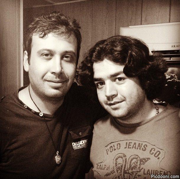 عکس محسن چاوشی و حسین صفا