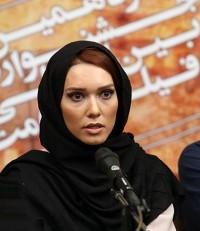 عکس شهرزاد کمال زاده در جشنواره فیلم مقاومت