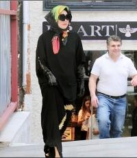 عکس جدید لیدی گاگا با حجاب