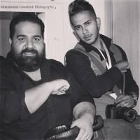 عکس رضا صادقی و برادرش
