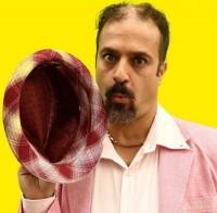 عکس گریم جدید احمد مهرانفر در سریال ابله