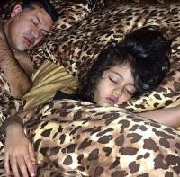عکس جالب علی دایی و دخترش