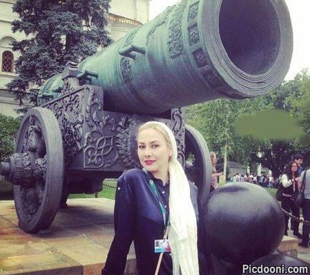 عکس جدید آنا نعمتی در مسکو