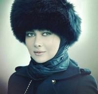 عکس زمستانی آنا نعمتی