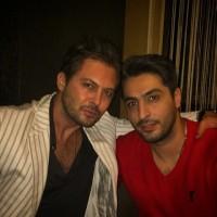 عکس دانیال عبادی و برادرش