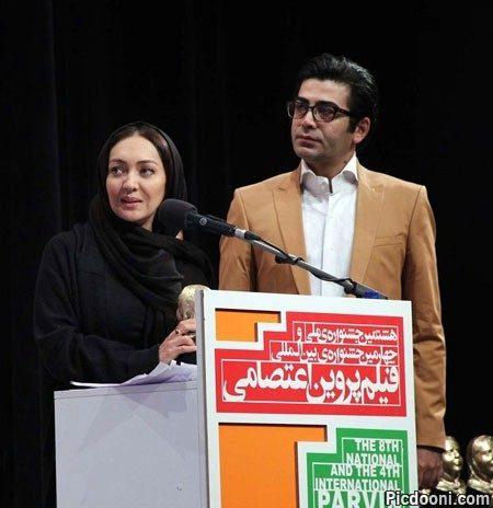 عکس فرزاد حسنی و نیکی کریمی