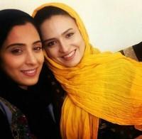 عکس سلفی گلاره عباسی با آناهیتا افشار