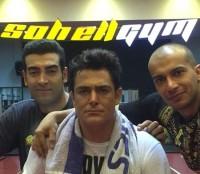 عکس محمدرضا گلزار در باشگاه