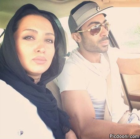 عکس روناک یونسی و همسرش