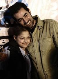 عکس شهاب حسینی و پسرش