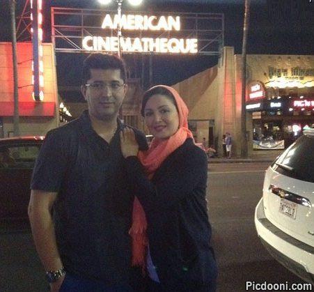 عکس شیلا خداداد و همسرش در هالیوود