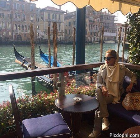 عکس جدید الناز شاکردوست در ونیز ایتالیا