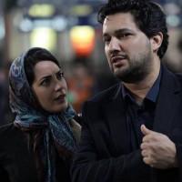 عکس حامد بهداد و طناز طبابایی در فیلم آرایش غلیظ