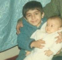عکس کودکی مرتضی پاشایی