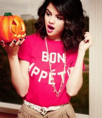 عکس سلنا گومز در جشن هالووین