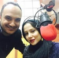 عکس سلفی الناز حبیبی و احسان کرمی