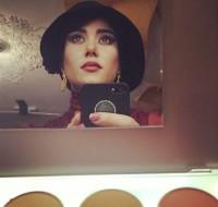 عکس پریناز ایزدیار در گریم فیلم جدیدش