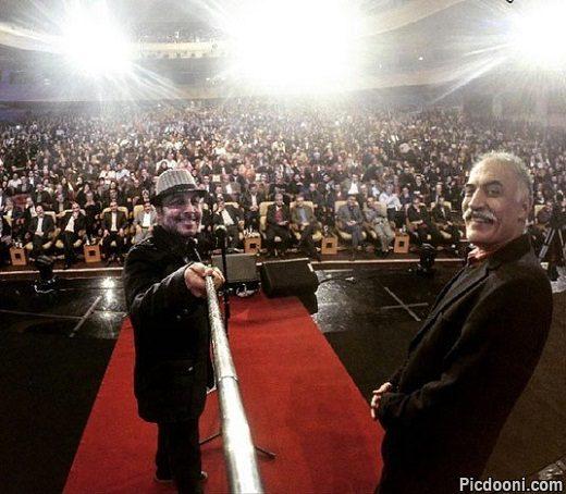 عکس سلفی رضا عطاران در جشنواره فجر