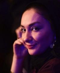 عکس هانیه توسلی در جشنواره فجر
