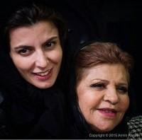 عکس لیلا حاتمی و مادرش در جشنواره فجر