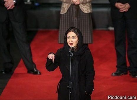 عکس نیکی کریمی در جشنواره فجر