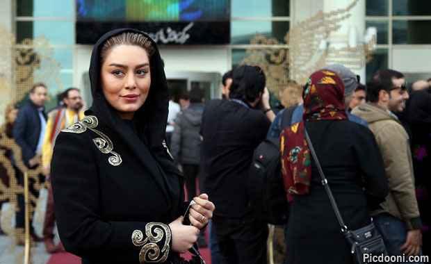 عکس های سحر قریشی در جشنواره فجر