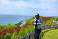 عکس جدید آزاده زارعی در اندونزی