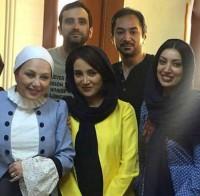 عکس بهاره افشاری در تئاتر بهنوش بختیاری