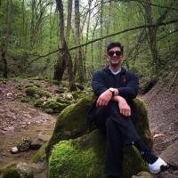 عکس جدید فرزاد فرزین در جنگل