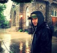 عکس جدید یاس زیر بارون