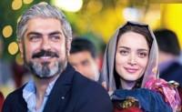 عکس جدید مهدی پاکدل و بهنوش طباطبایی