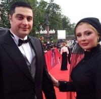 عکس نیوشا ضیغمی و همسرش در جشنواره فیلم روسیه