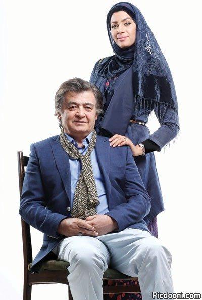 عکس رضا رویگری با همسرش