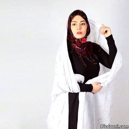 عکس آتلیه ای سحر قریشی با چادر