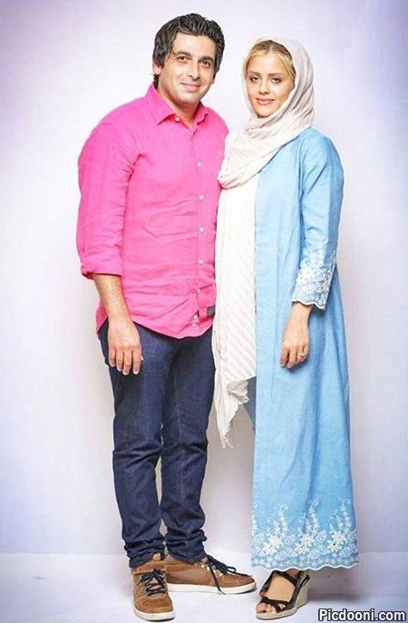 عکس جدید حمید گودرزی با همسرش