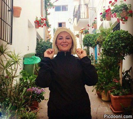 عکس لاله اسکندری در پرتغال