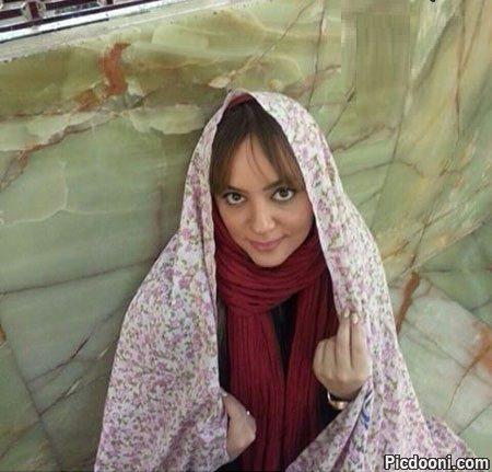 عکس لیلا برخورداری در مشهد