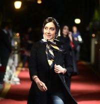 عکس بهاره کیان افشار در جشن خانه سینما