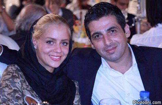 عکس حمید گودرزی و همسرش در جشن خانه سینما