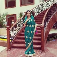عکس هانیه غلامی با لباس هندی