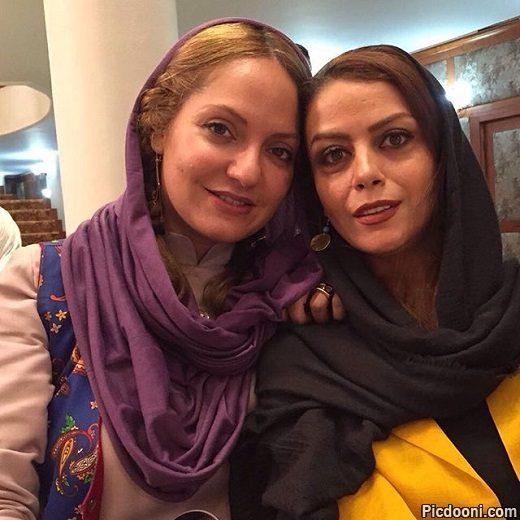 عکس سلفی مهناز افشار و شبنم فرشادجو