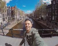 عکس سلفی سیروان خسروی در هلند