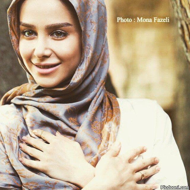 عکس الناز حبیبی برای تبریک عید