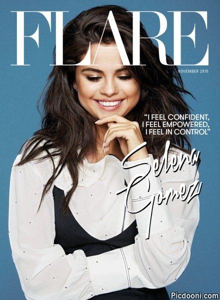عکس های جدید سلنا گومز برای مجله فلیر