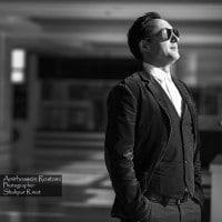 عکس سیاه سفید از امیرحسین رستمی