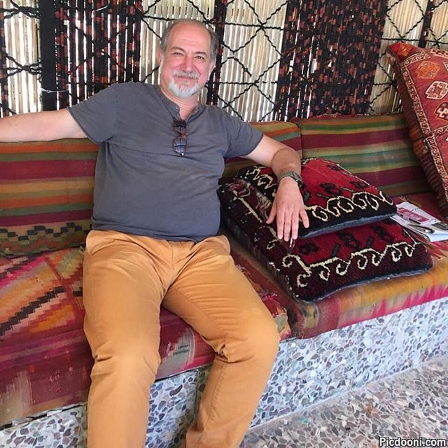 عکس آتیلا پسیانی در لبنان