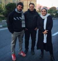 عکس دانیال عبادی و نرگس محمدی