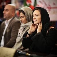 عکس گلاره عباسی در نشست فیلم شهرزاد