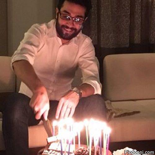 عکس تولد حسین مهری